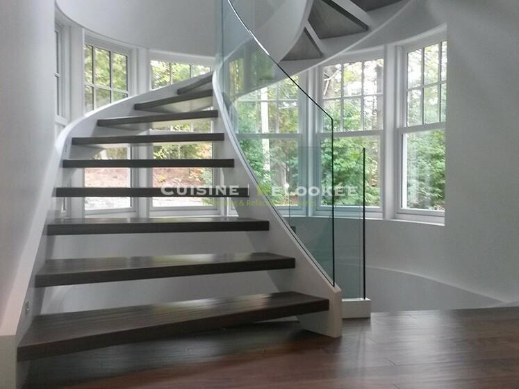 Réalisation escalier moderne