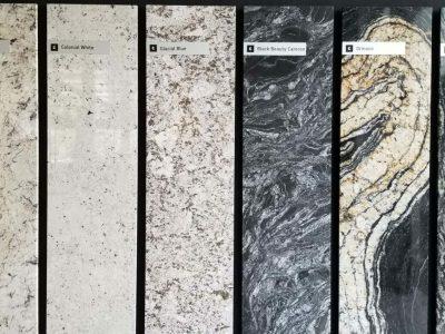 Rénovation cuisine matériaux - Granit